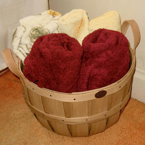 Peterboro Bathroom Floor Storage Basket