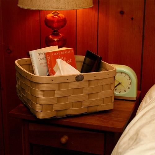 Peterboro Bedside Storage Basket