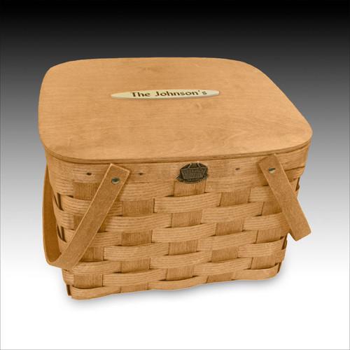 "Peterboro ""Our Basic Picnic"" Basket"
