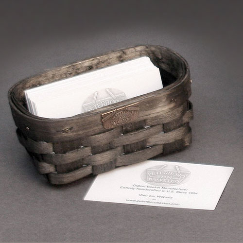 Peterboro Business Card Basket