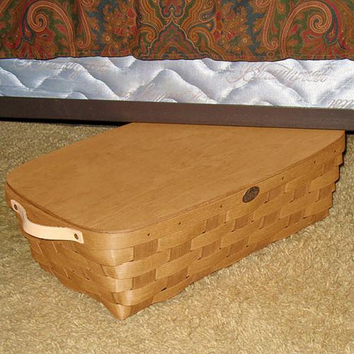 Peterboro Under-Bed Storage Basket with Lid