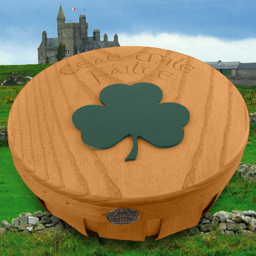 Peterboro Irish Welcome Family Heirloom Basket