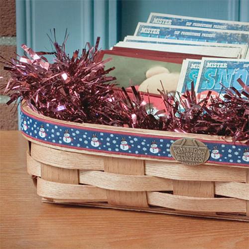 Peterboro Holiday Cards Basket