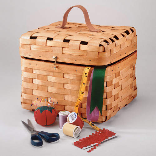 Peterboro Heirloom Sewing Basket