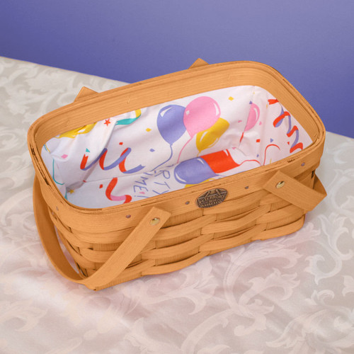 Peterboro Children's Shopper Basket with Party Liner