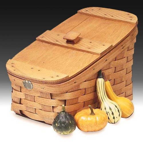 Peterboro Country Slatted Storage Basket