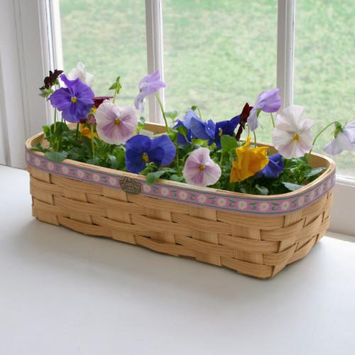 Peterboro Windowsill Flowerpot Basket