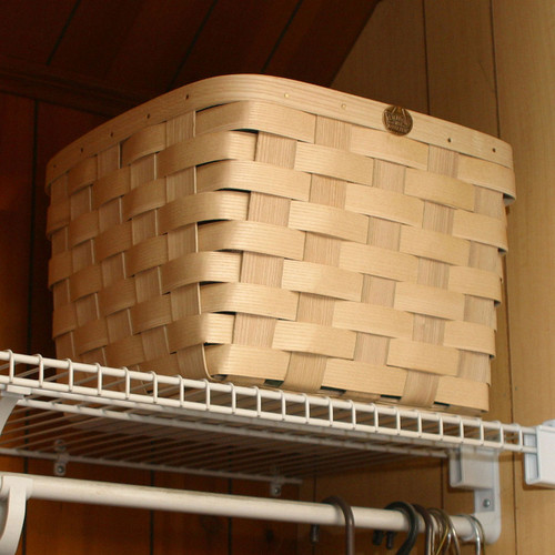 Peterboro Square Medium Laundry Room Storage Basket