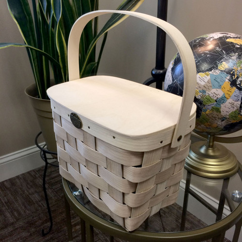 Peterboro Lunch & Craft Tote Basket
