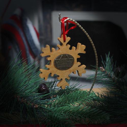 Peterboro Basket 2018 Wood Ornaments