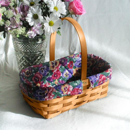 Peterboro Splendid Spring Floral Basket