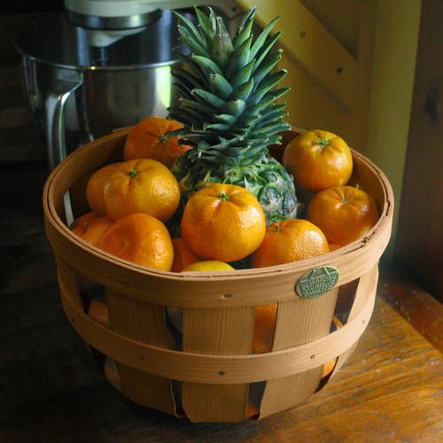 Peterboro Half-Peck Ventilated Fruit Storage Basket