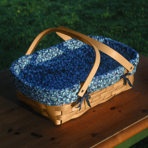 Peterboro Blueberry Patch Shopper Basket