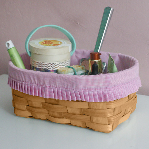 Peterboro Powder Room Storage Basket