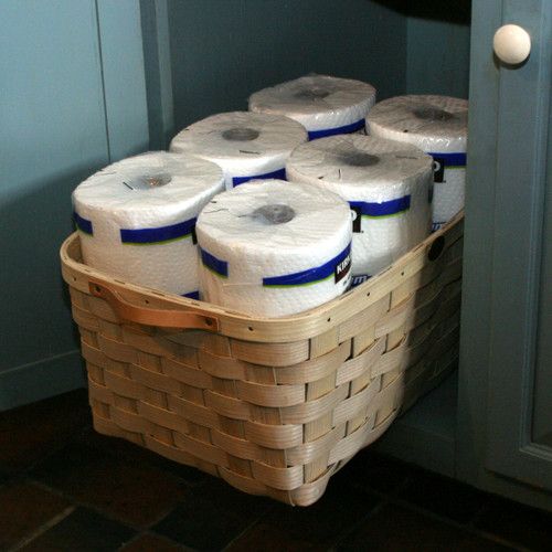 Peterboro Paper Towel Storage - Naturally