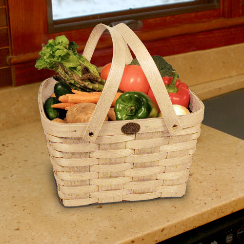 Peterboro Basic Shopper Basket - Naturally