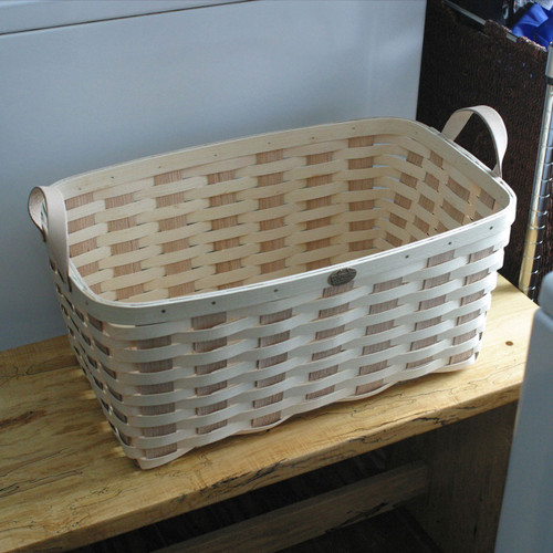 Peterboro Oak 'n' Ash Laundry Basket