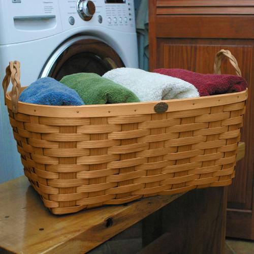 Peterboro Oval Laundry Basket