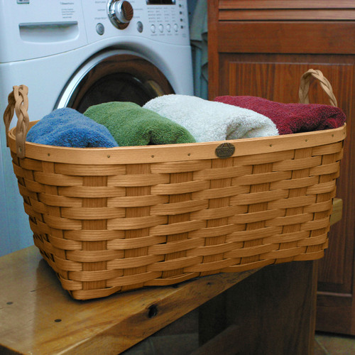 Peterboro Oval Laundry Basket