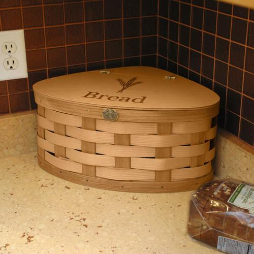 Peterboro Countertop Corner Bread Basket