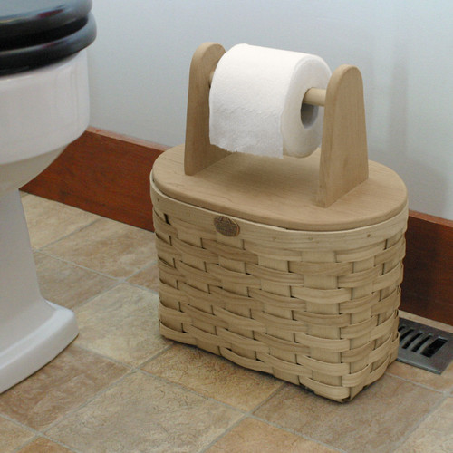 Peterboro Toilet Paper Storage Basket