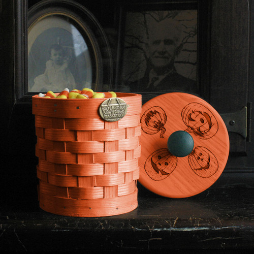 Peterboro Jack O' Lantern Table Basket
