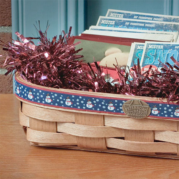 Peterboro Holiday Cards Basket