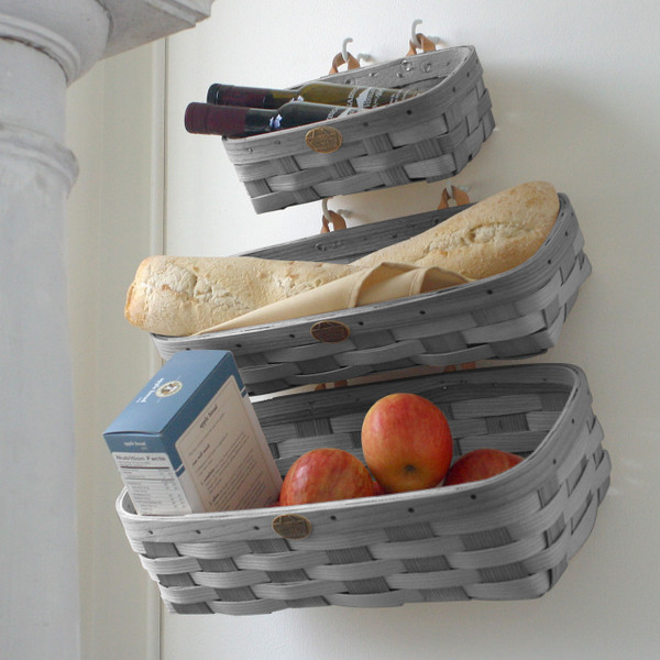 Peterboro Home Decor Wall Storage Basket Set