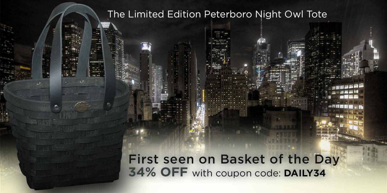 Peterboro Night Owl Basket