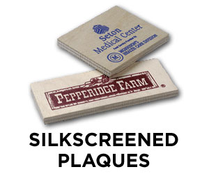 Silkscreened Plaques