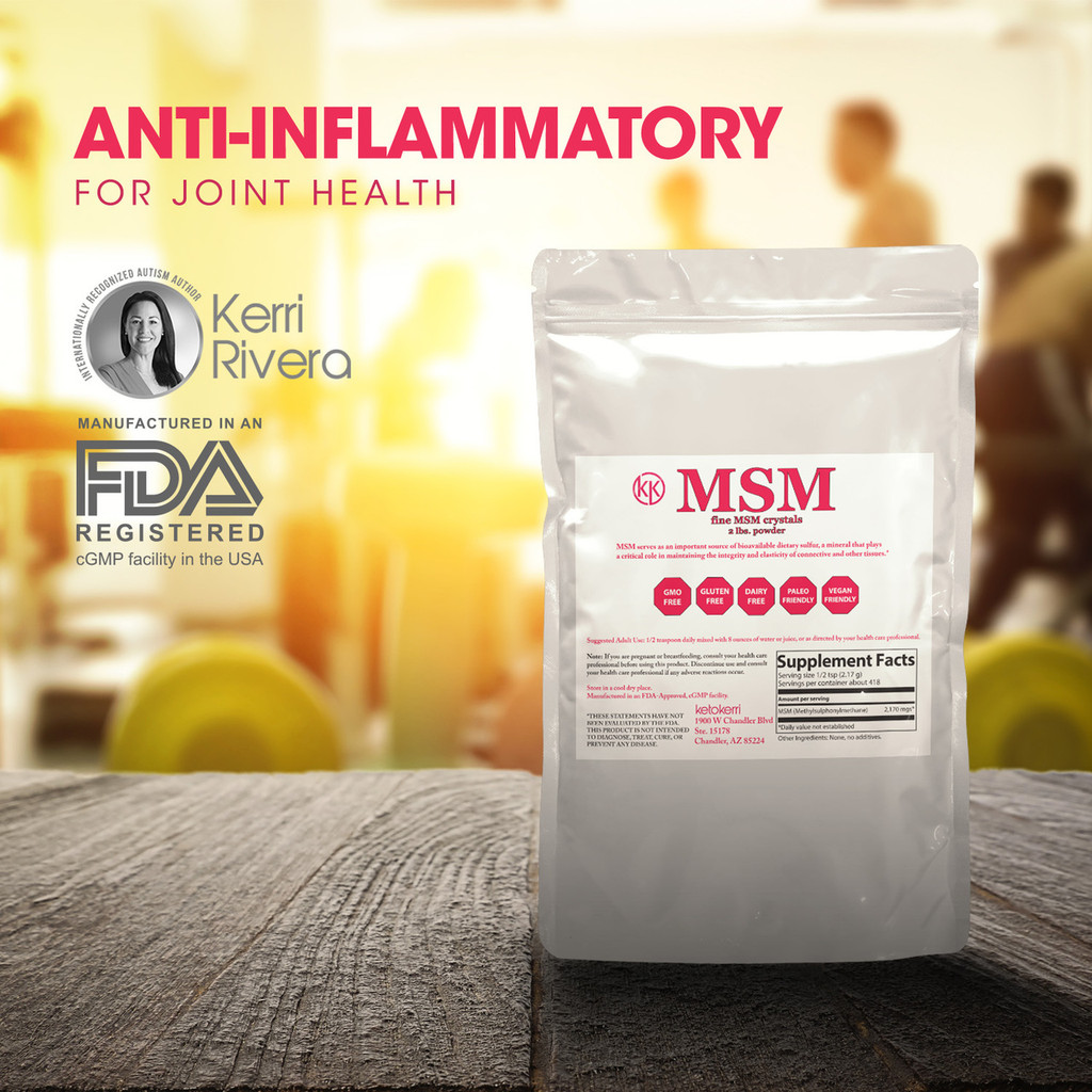 This picture indicates MSM has beneficial ingredients that can help with digestive & Leaky Gut .  It is anti-inflammatory.
