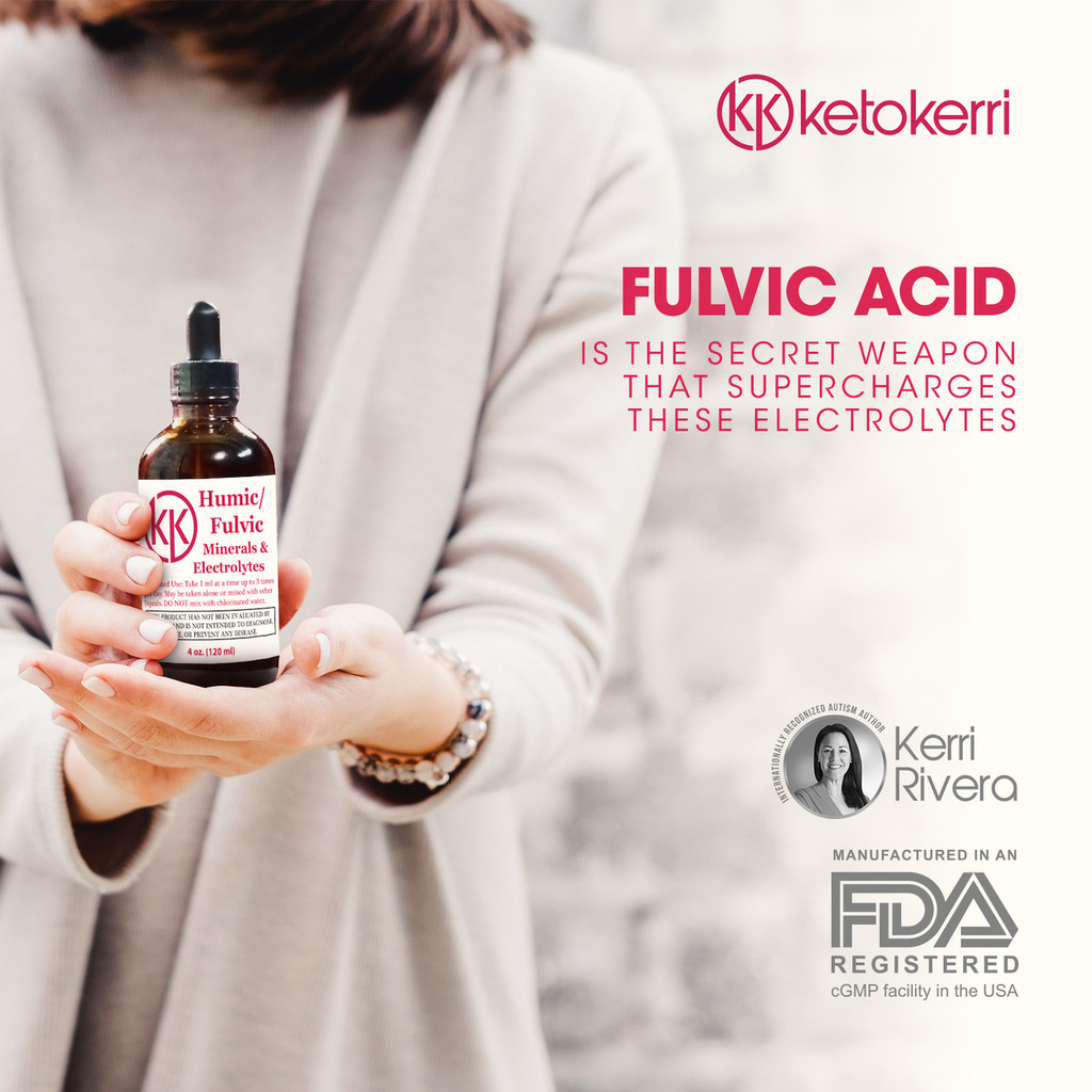 Because it's able to improve how our cells take up things like antioxidants and electrolytes, humic/fulvic acid has become popular for slowing down aging, improving digestive health, boosting the immune system, and protecting brain function