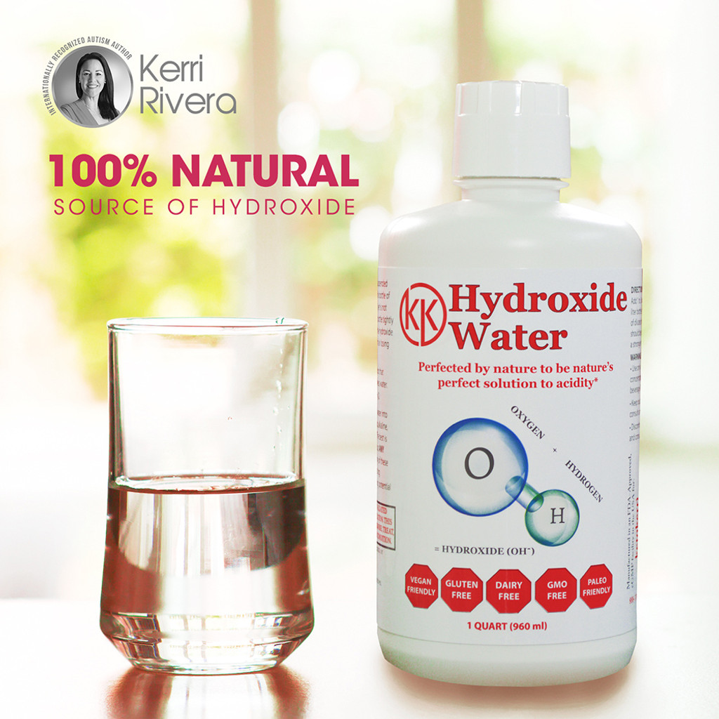 This product is 100% Natural Hydroxide.