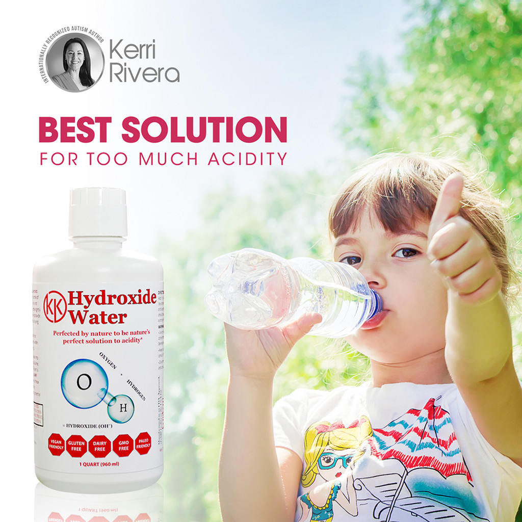 Picture shows kid drinking water out of a bottle.  It is lower in cost and more eco-friendly than other alkaline waters because it is a concentrate