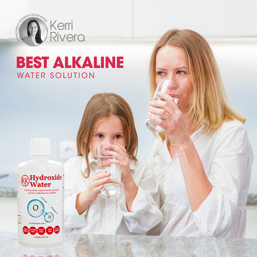 Hydroxide Water will turn regular tap water into acid eliminator.