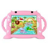 "Kids Alphabet Case for iPad 5/6, Air 1+2 & Pro 9.7"" - Pink"