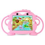 Kids Monkey Case for iPad mini 1/2/3/4/5 - Pink