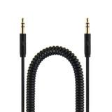 Essentials 3.5mm AUX audio coiled cable - 1.8m