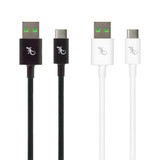 Essentials USB to USB-C cable Twin Pack - 1.0m + 1.0m