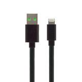 Essentials USB to Lightning flat cable 1.2m - Black