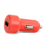 USB Car Charger 2.4AMP - Coral