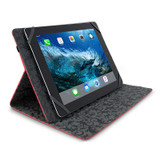 """Universal Grip Folio for 9.7"""" to 10.8"""" tablets - Red"""