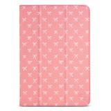 Designer Folio Case for iPad Mini 1/2/3/4/5 - Salmon Bows