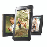 Universal Clear Screen Protector for Tablets - 2 pack