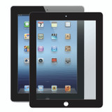 Bubble-Free Screen Protector for iPad 2/3/4 - Black - 1 pack