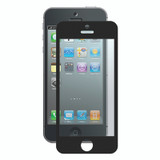 Bubble-Free Screen Protector for iPhone 5/5s/SE - Black - 2 pack