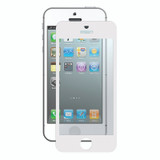 Bubble-Free Screen Protector for iPhone 5/5s/SE - White - 2 pack