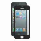 Bubble-Free Screen Protector for iPhone 5/5s/SE - Black - 1 pack