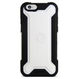 Rugged Hybrid Case for iPhone 6/6s - Black/White