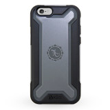 Ultra Tough Armour Case for iPhone 6/6s - Black/Grey